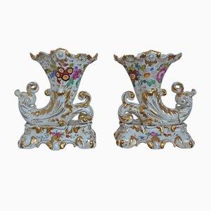 Vintage Ceramic Vases, Set of 2