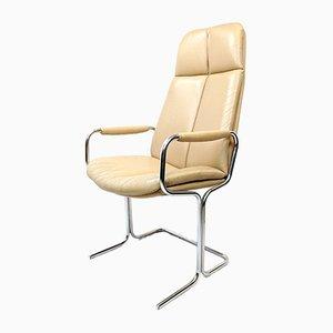 Vintage Bürostuhl mit hoher Rückenlehne von Pieff