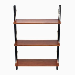 Teak Wall Unit by Louis Van Teeffelen, 1958
