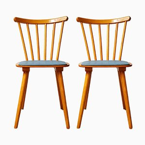 German Dining Chairs, 1960s, Set of 2