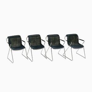 Chaises de Bureau par Charles Pollock pour Castelli / Anonima Castelli, 1980s, Set de 4