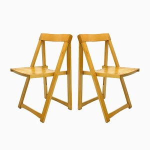 Folding Chairs, 1970s, Set of 2