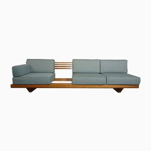 Pine Bench Sofa, 1960s