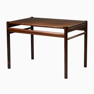 Table d'Appoint en Palissandre par Ole Wanscher pour P. Jeppesen, 1950s