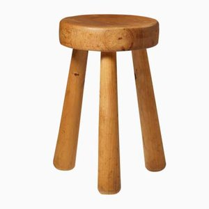 Swedish Stool by Ingvar Hildingson for I.H. Slöjd, 1950s