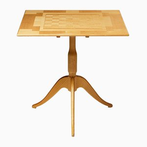 Swedish Game Table by Carl Malmsten, 1980s