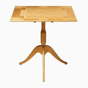 Tavolo da gioco di Carl Malmsten, Svezia, anni '80