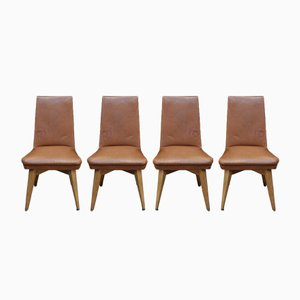 Erton Dining Chairs, 1950s, Set of 4