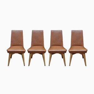 Erton Esszimmerstühle, 1950er, 4er Set