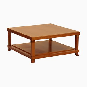 Model Robie 2 Cherry Wood Coffee Table by Frank Lloyd Wright for Cassina, 1980s