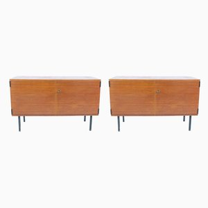 Mid-Century German Teak Sideboards from Rego, Set of 2