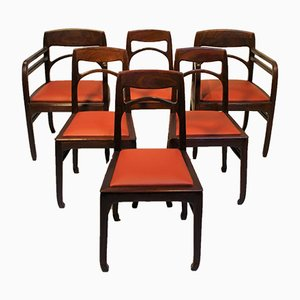 Rosewood Dining Chairs by Richard Riemerschmid, 1902, Set of 6