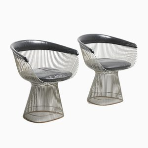 Mid-Century Dining Chairs by warren platner for Knoll Inc. / Knoll International, Set of 2