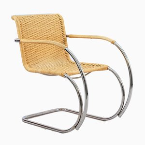 Vintage Lounge Chair by Ludwig Mies van der Rohe for Knoll Inc. / Knoll International