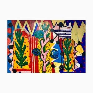 Oasis Painting by Nicolas Shipton, 2019