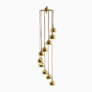 Brass Pendant Lamp, 1960s