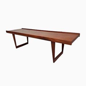Table Basse en Teck par Peter Løvig Nielsen pour Løvig, 1960s