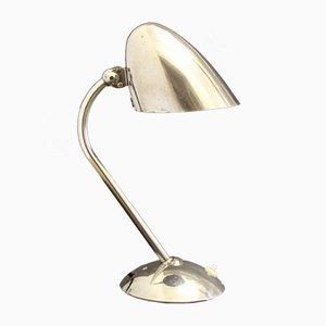 Lámpara de mesa de cromo de Franta Anyz para IAS, años 30