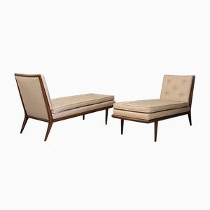 Chaise longue di T. H. Robsjohn-Gibbings, anni '50, set di 2