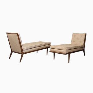 Chaise Lounges de TH Robsjohn-Gibbings, años 50. Juego de 2