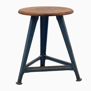 Vintage Industrial Stool from Rowac