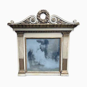 Antique Lacquered Mirror from Camino Laccata