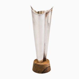 Rosewood Vase by Tapio Wirkkala for Kultakeskus, 1967