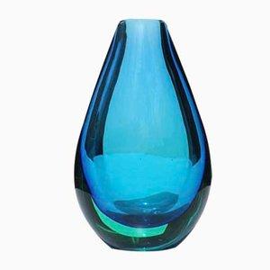 Vase en Verre de Murano par Flavio Poli pour Seguso, 1950s