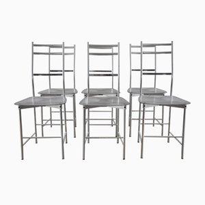 Chaises de Salon par Opera Design pour Ycami Italia, 1980s, Set de 6