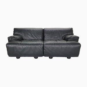 2-Sitzer Sofa von Vico Magistretti für Cassina, 1970er