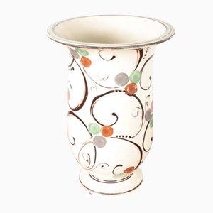 Danish Ceramic Vase by Kähler, 1940s