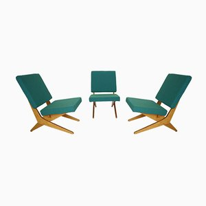 FB18 Lounge Chairs by Jan Van Grunsven for Pastoe, 1950s, Set of 3