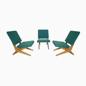FB18 Sessel von Jan Van Grunsven für Pastoe, 1950er, 3er Set