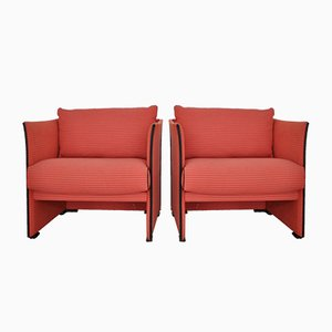 Vintage Lounge Chairs by Mario Bellini for Cassina, Set of 2