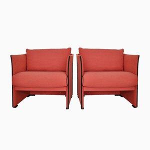 Vintage Sessel von Mario Bellini für Cassina, 2er Set