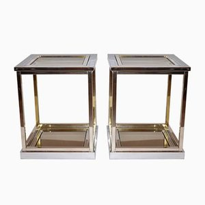 Side Tables by Renato Zevi for Romeo Rega, 1979, Set of 2