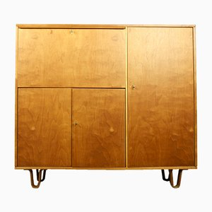 Mid-Century Model CB-01 Birch Secretaire by Cees Braakman for Pastoe
