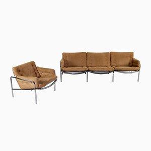 Canapé 3 Places et Fauteuil Osaka par Martin Visser pour t Spectrum, années 60, Set de 2