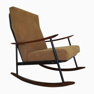 Mid-Century Rocking Chair by Gastone Rinaldi for Rima