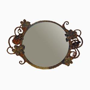 Spiegel mit Metallrahmen, 1950er