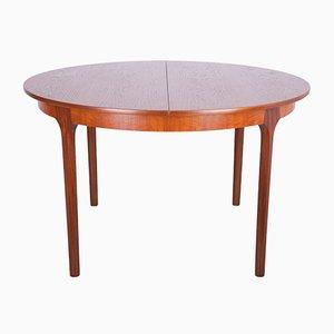 Table de Salle à Manger Ronde à Rallonge de McIntosh, années 60