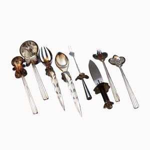 Cutlery Set by Bořek Šípek for Driade, 1988, Set of 8