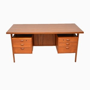 Danish Teak Desk by Kai Kristiansen, 1960s