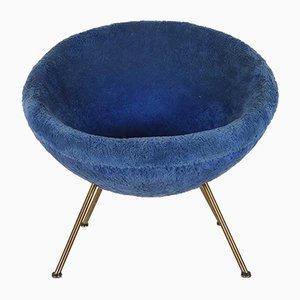 Blauer Sessel, 1950er