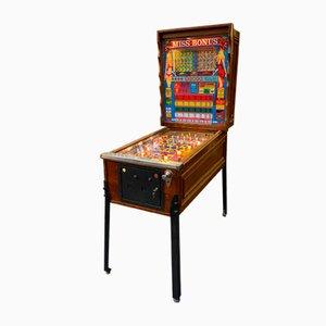 Máquina de bingo Miss Bonus, años 70