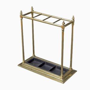 Portaombrelli vittoriano antico in ottone