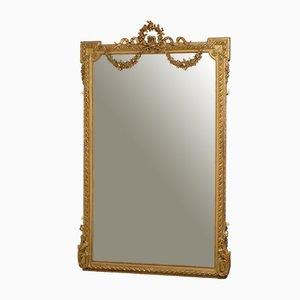 Grand Miroir de Sol 19e Siècle
