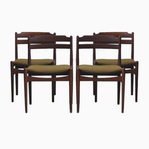 Mid-Century Danish Teak Dining Chairs from Sorø Stolefabrik, Set of 4