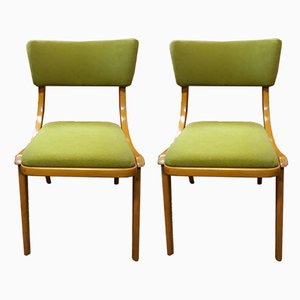 Polish Dining Chairs, 1970s, Set of 2