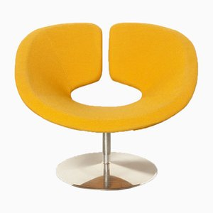 Yellow Orange Apollo Armchair by Patrick Norguet for Artifort, 2000s